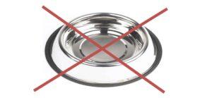 No Dog Dish
