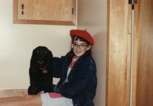 Sara with Sambo 1988